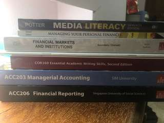 SUSS/UniSIM Textbooks