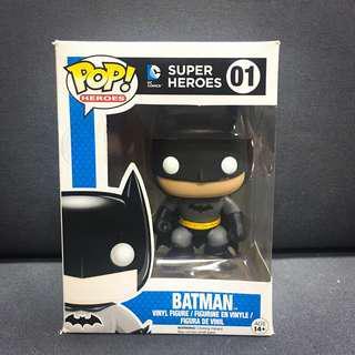 Funko Pop Batman 蝙蝠俠 卡通 DC Comics Figure 擺設 收藏 生日禮物
