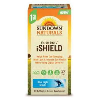 Sundown Naturals Vision Guard® iShield, 60 sgls