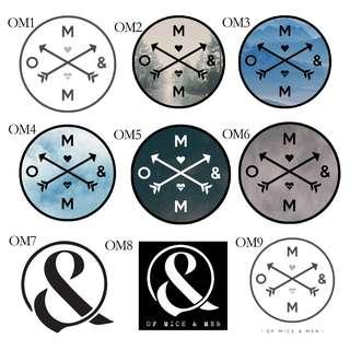 Of Mice & Men Stickers