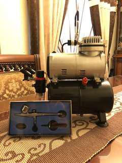 Airbrush + Air Compressor