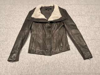 Muubaa leather jacket