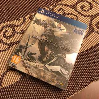 Monster Hunter World Steelbook (R2 english)