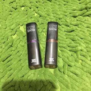 Maybelline Colorshow matte lipstick