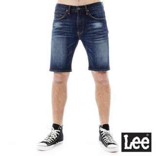🚚 Lee 101+ 刷色 牛仔短褲 34腰