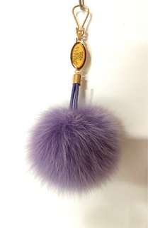 Siberian Fur Fur ball purple