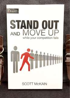 # Highly Recommended《New Book Condition + How To Excel When The Distinction Collapse In Your Business》Scott McKain - STAND OUT AND MOVE UP WHILE YOUR COMPETITION FAILS