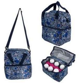 Autumnz Posh Cooler Bag (Retro Paisley)