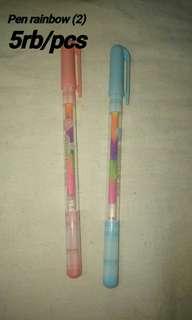 Pen rainbow (tintanya rainbow)