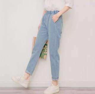 High waist Ulzzang pants