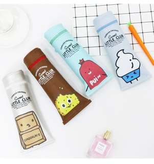 🚚 Sweet Little Club Toothpaste Pencil Case @ $4.50 only!!! Cheapest on Carousell! Ready Stocks! Limited pcs left!!!