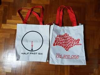 SG50 Tote Bags