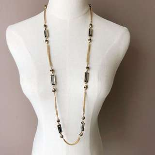Sfera Embellished Long Necklace