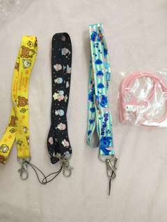 [Instock] Cartoon Character Lanyards