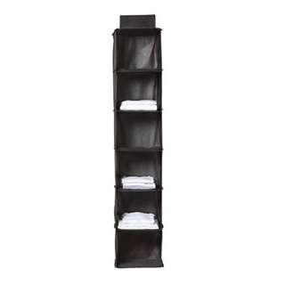 6-Shelf Clothes Hanging Organiser