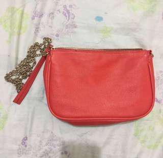 H&M RED SLING BAG