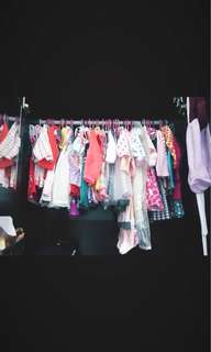 Will be uploading my daughter's preloved clothes.