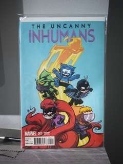 The Uncanny Inhumans #1 Skottie Young Cover