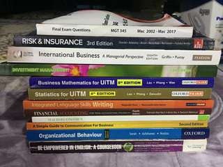 UiTM References Books