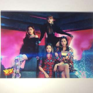 Yes card 5R相 Blackpink