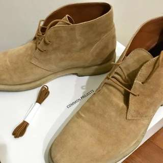 Common Projects Boots 42 麂皮鞋