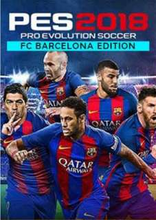 Pes 2018 PC BARCELONA EDITION STEAM GAME