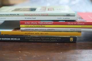 Koleksi Kategori Sastra Bundling Ekonomis 6 Buku