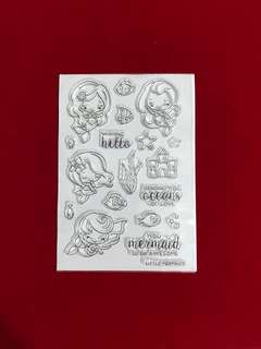 People stamps #25 scrapbook clear stamps