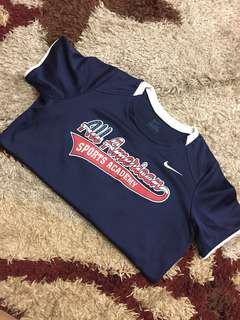 authentic nike sports wear blouse