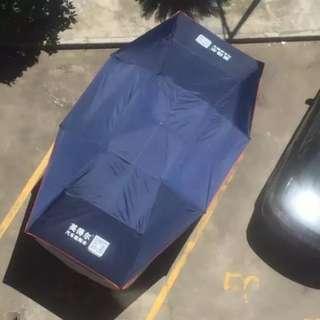 車篷折疊車頂隔熱遮陽棚(半自動)