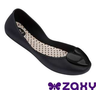 🚚 Zaxy 巴西-女 START ROMANCE 甜心娃娃鞋 (黑) - US8