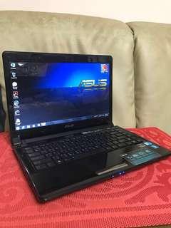 ASUS 雙核薄型筆電(X8BV) Laptop