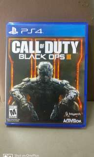 FREE POSTAGE Call Of Duty Black Ops 3 R3 PS4 / Call Of Duty Black Ops3 Playstation 4 / COD BO3