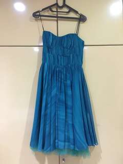 Party blue dress GOOD DEAL
