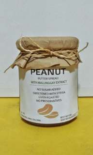 Homemade Peanut Butter Spread with Malunggay Extract (No Sugar Added - Sweetend with Stevia!)