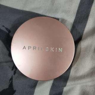 April skin fixing foundation no. 21