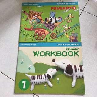 Yamaha JMC Primary 1 Textbook and Workbook