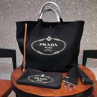 面交  Prada 普拉達購物袋  多色可選