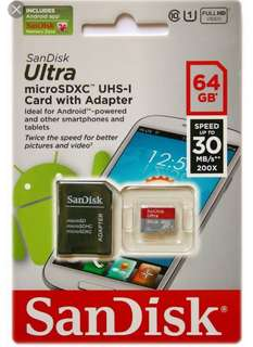AUTHENTIC Memory SD Card for all types of Phones, Tablets, CCTV and action cam