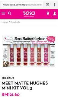 theBalm cosmetics - Meet Matt(e) Hughes