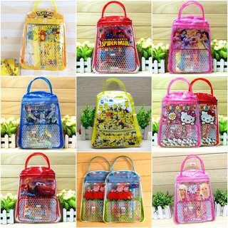 Stationery Set Birthday Party Goodie Bag Children Day Gift Tsum Tsum Pokemon
