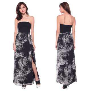 RTP$38 Love Bonito Quenby Printed Maxi Skirt