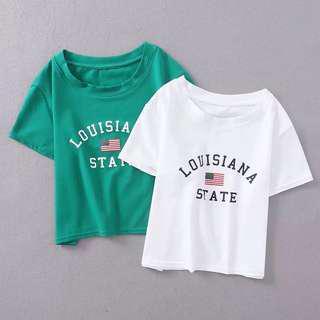 Louisiana 美式純棉上衣