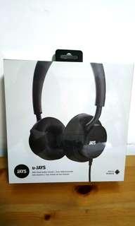 (BNIB w warranty) u-JAYS Wired Headphones