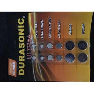BN batteries pack LR41 LR626 LR1130 LR44 CR2016 and CR2025