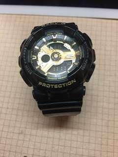 Baby-G 黑金手錶