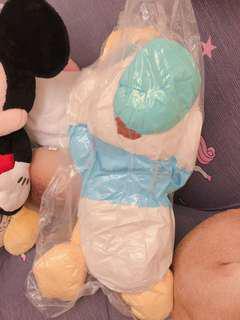 迪士尼 唐老鴨玩偶 日本帶回