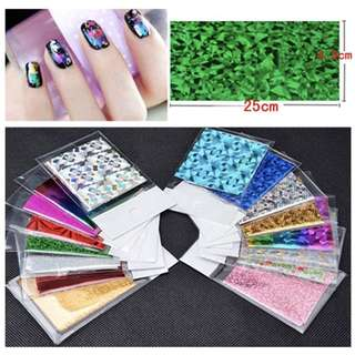 337- 50Pcs Star Nail Stickers