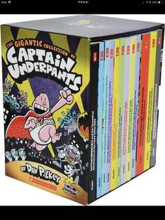 Captain Underpants (12 books)