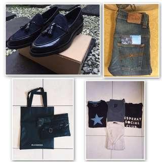 Nudie Jeans | ZARA | BlackBook | Kaos - Kaos